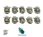 Orks Storm Flying Squadron Heads