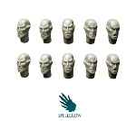 Space Elves Heads