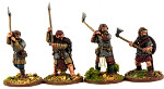 Norse Gael Hearthguards with Dane Axes