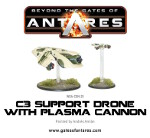 C3 Support Drone with Plasma Cannon