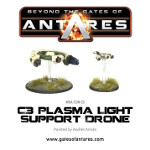 C3 Plasma Light Support Drone