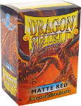 Dragon Shield 100 Box - Matte Red