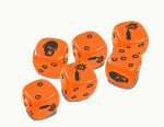 Zombicide Dice: Orange
