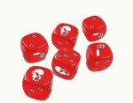 Zombicide Dice: Red