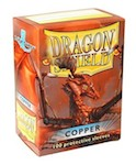 Dragon Shield 100 Box - Copper