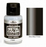 Metal Color - Gloss Black Primer 32ml