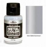 Metal Color - Semi Matte Aluminium 32ml