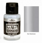 Metal Color - Dull Aluminium 32ml