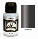 Metal Color - Gunmetal Grey 32ml