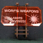Sign H (Worf's Weapons) with stand