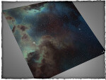 Mousepad games mat, size 3x3, Deep Space theme