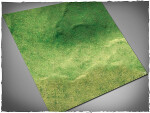 Mousepad games mat, size 3x3, Fields theme