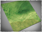Mousepad games mat, size 4x4, Fields theme