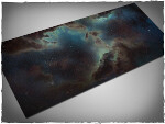 Mousepad games mat, size 3x6, Deep Space theme