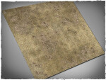 Mousepad games mat, size 3x3, Steppe theme