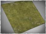 Mousepad games mat, size 3x3, Plains theme