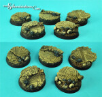 Egyptian Ruins 32 mm round bases set 1 (5)