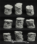 Celtic Ruins 32mm round bases set 1 (3)