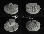 Egyptian Ruins, 50mm round edge base