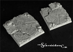 Egyptian Ruins 50mm square base