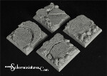 Egyptian Ruins 40 mm square bases (2)