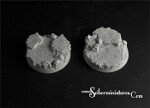 Templar Ruins 40mm round bases set 1 (2) (New Version)
