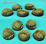 Egyptian Ruins 40 mm round bases set 1 (2) (New Version)