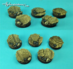 Egyptian Ruins 25 mm round bases set 1 (5) (New Version)