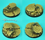 Egyptian Ruins 60 mm round base (New Version)