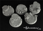 Celtic Ruins 40mm round bases #1 (2) (New Version)