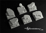 Elven Temple Ruins Square Bases 25mm (5) (New Version)
