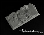 Elven Temple Ruins Square Bases 95mm/45mm (New Version)
