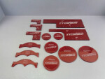 Warmachine Templates (Red)