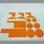 Warmachine Templates (Orange)