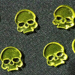 Skulls (Translucent Yellow)