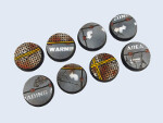 Warehouse Bases, 32mm Round (4)