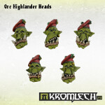 Orc Highlander Heads (10)