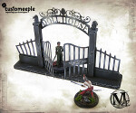 Malifaux Dollhouse Gate and Fences