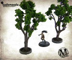 Malifaux Dollhouse Tree Planters