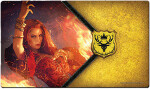 AGOT 2e Playmat: The Red Woman