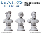 UNSC Bust Collection 1