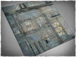 Mousepad games mat, size 3x3, Space Hulk theme