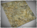 Mousepad games mat, size 4x4, Urban Wasteland theme