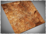Mousepad games mat, size 3x3, Red Planet theme
