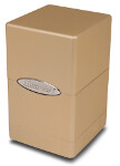 Satin Tower Deck Box - Metallic Caramel
