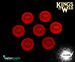 Kings of War Acrylic Objective markers