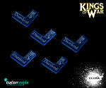 Kings of War Disordered markers (5)