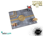 Kings of War Dwarven Unit Tray - 125x50mm