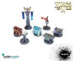 Kings of War Objective Markers set