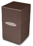 Satin Tower Deck Box - Metallic Dark Chocolate